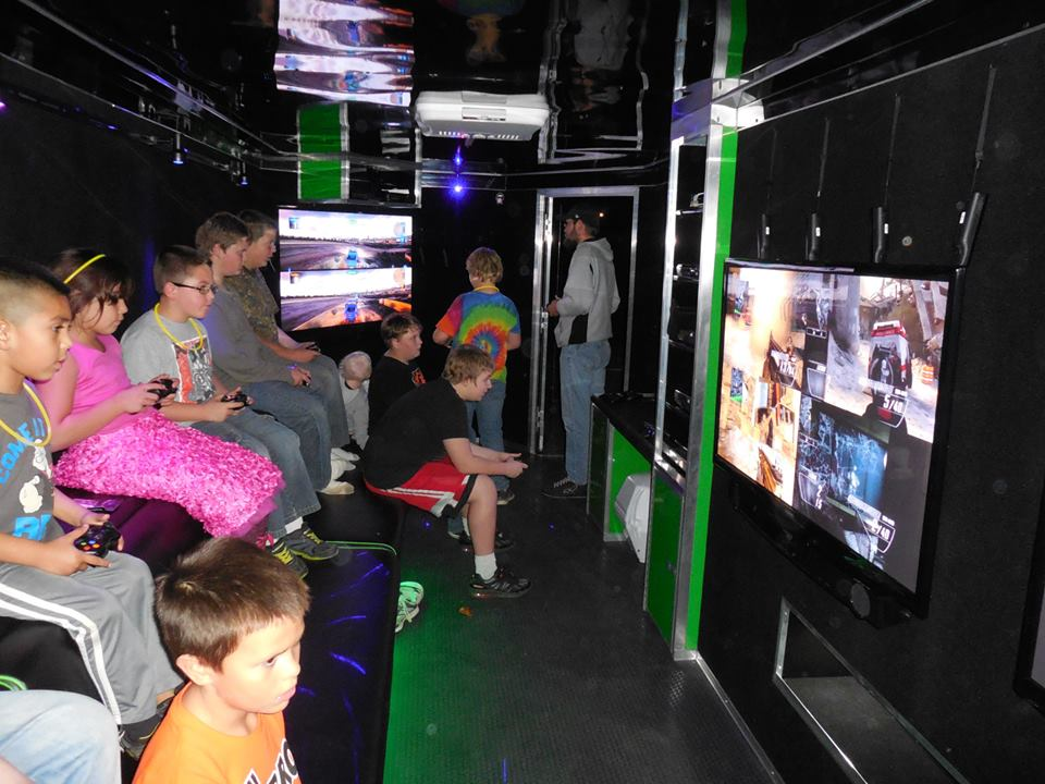 Game Truck And Laser Tag Birthday Party In South Jersey