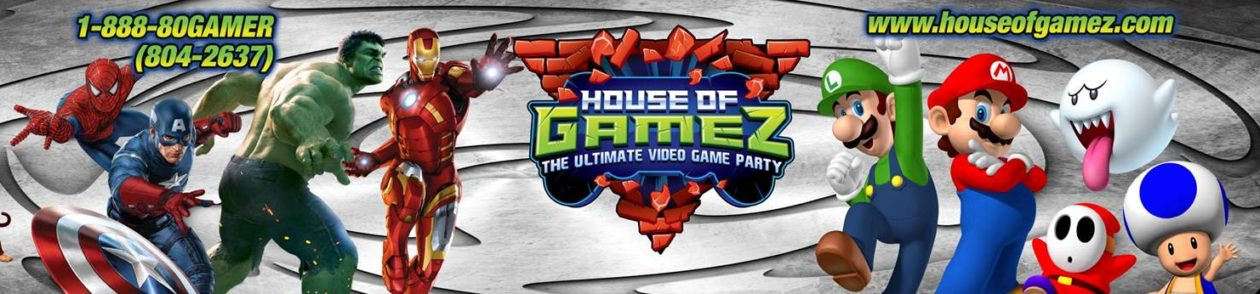 House of Gamez – South Jersey & Philadelphia Video Game Truck Parties