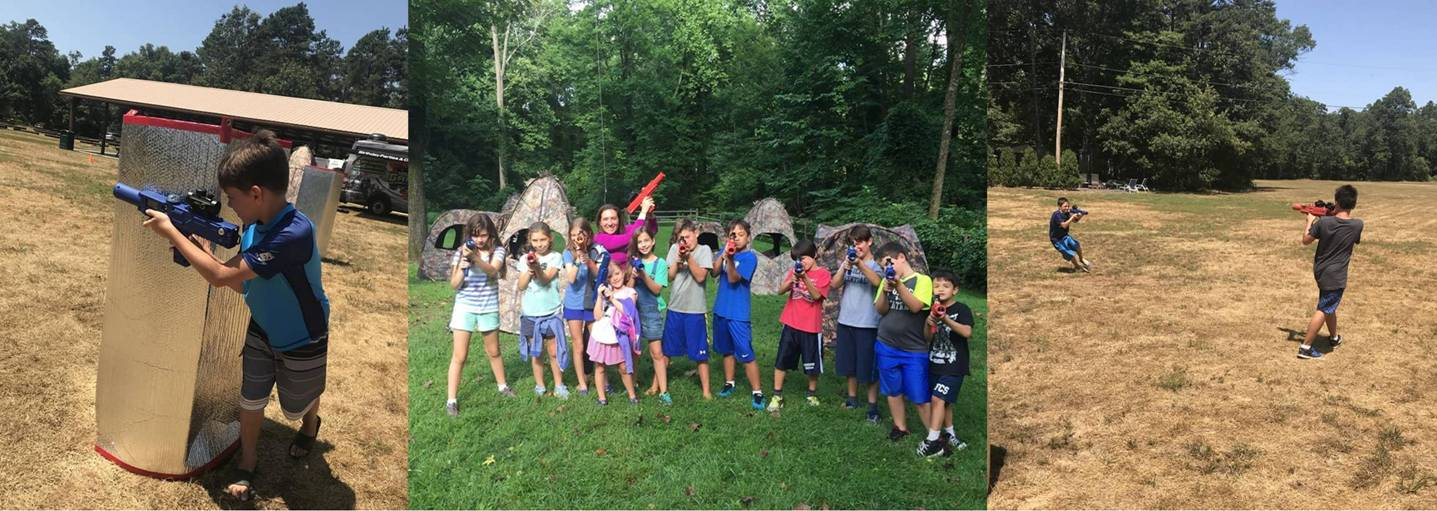 Kids laser tag birthday party in South Jersey, Philadelphia, Delaware