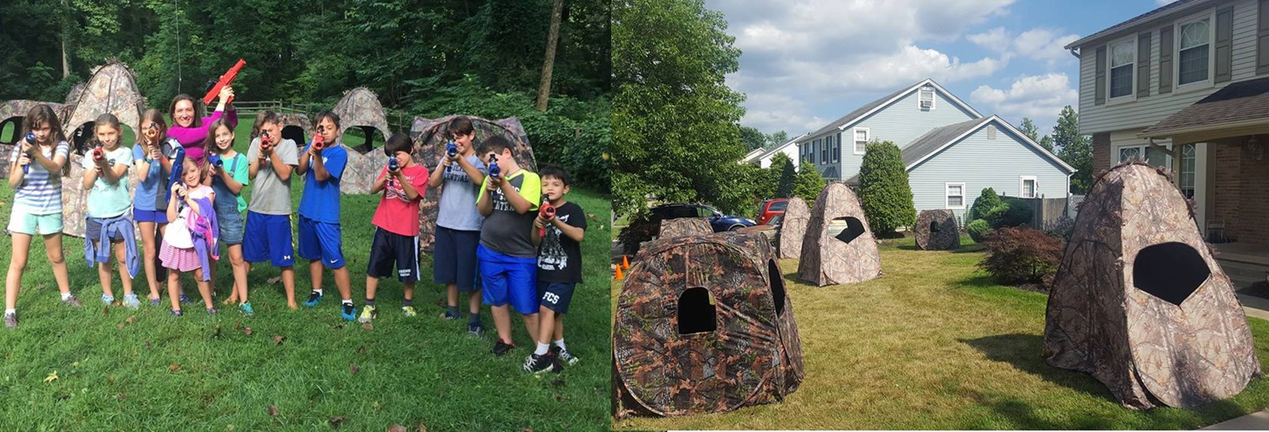 Laser tag party in South New Jersey, Philadelphia and Delaware