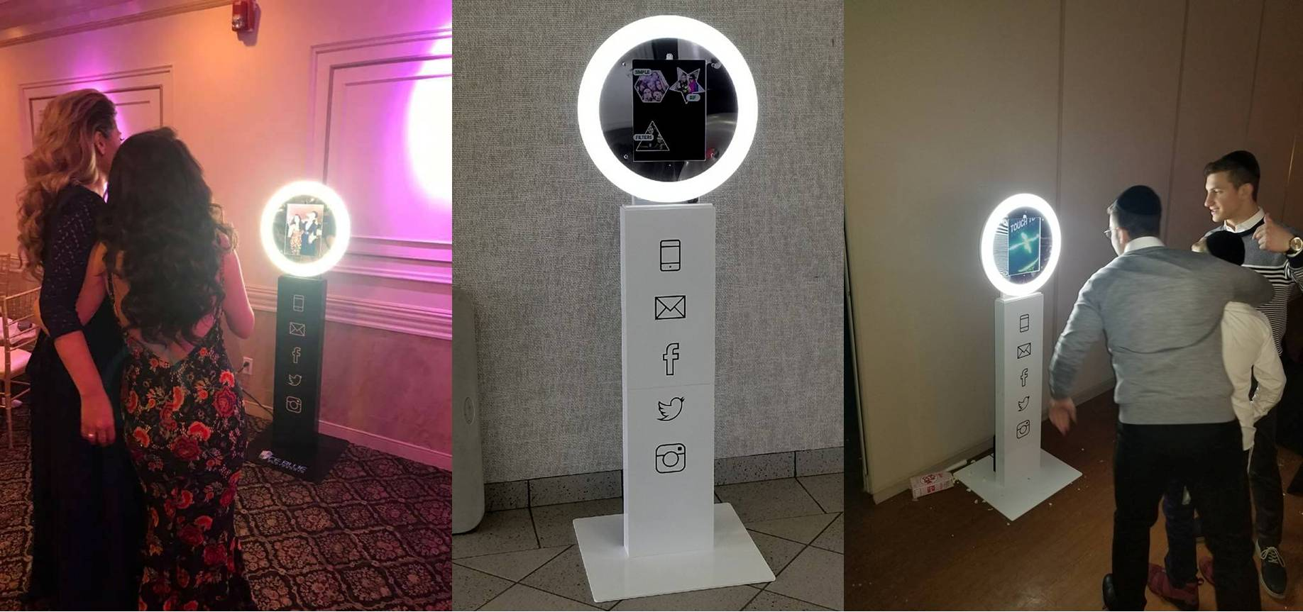 Photo booth rental in South New Jersey, Philadelphia and Delaware