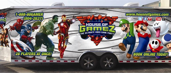 Our Game Truck is an incredible Video Game Party on wheels...
